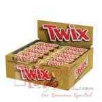 Twix Chocolate 25x{2x25g} bar complete box-rd2450