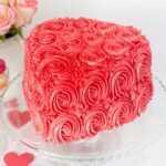 milk-chocolate-rosette-cake