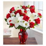 white-lilies-with-red-roses-and-red-carnations-bouquet-ophelia-and-vase